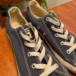 Converse Shoes - CONVERSE Blue Low Top